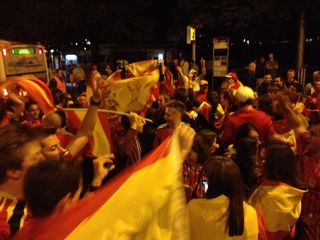 SpainCelebrationSchwanen-1July2012
